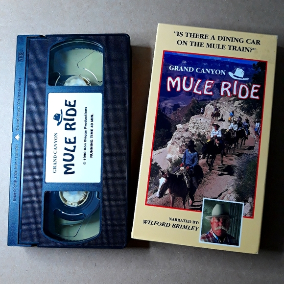 Grand Canyon Mule Ride (VHS)